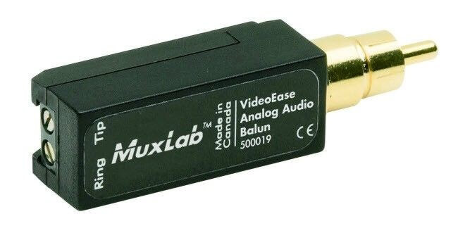 MuxLab Analog Audio Balun MU 500019