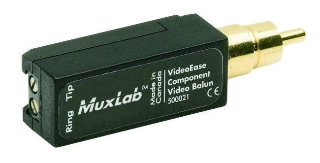 MuxLab Y- Pb oder Pr Video Balun MU 500021